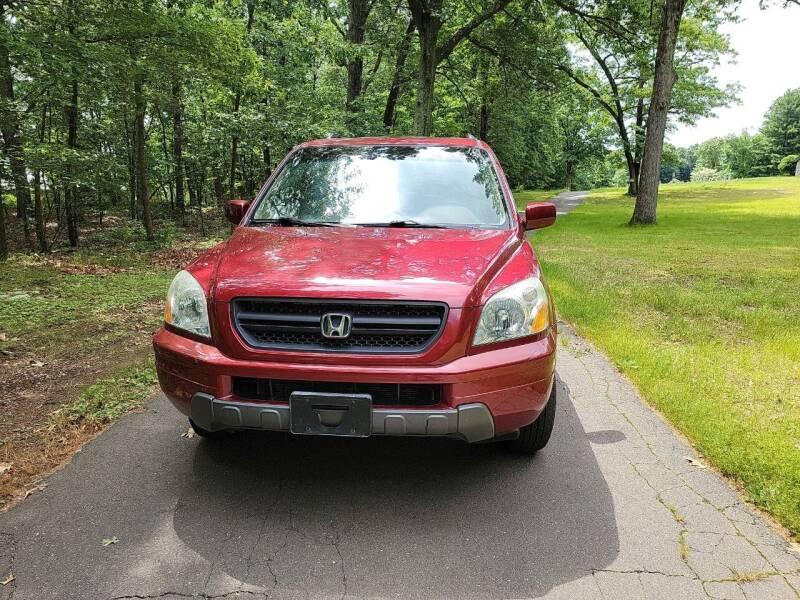 2005 Honda Pilot for sale at F & Z MOTORS LLC in Waterbury CT