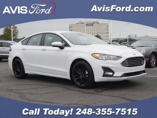 2020 Ford Fusion for sale at Work With Me Dave in Southfield MI