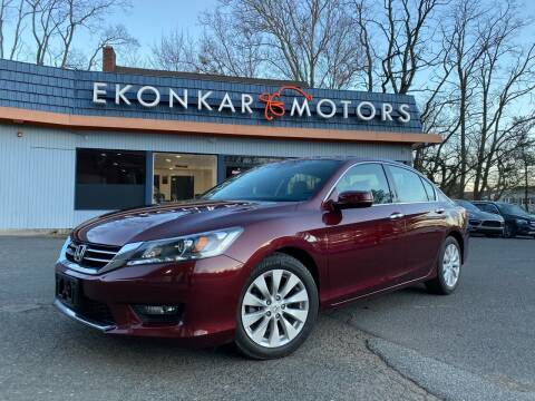 2014 Honda Accord for sale at Ekonkar Motors in Scotch Plains NJ