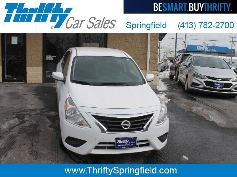 2019 Nissan Versa for sale at Thrifty Car Sales Springfield in Springfield MA