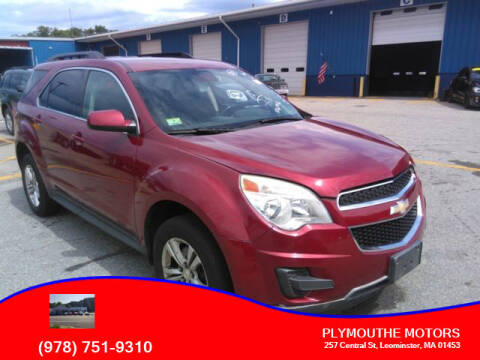 2012 Chevrolet Equinox for sale at Plymouthe Motors in Leominster MA