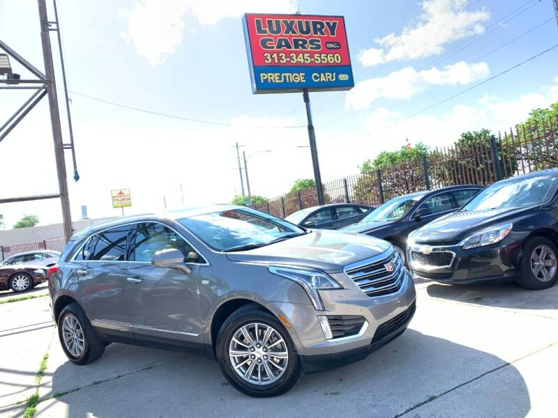 2018 Cadillac XT5 for sale at Dymix Used Autos & Luxury Cars Inc in Detroit MI