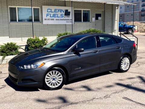 2015 Ford Fusion Hybrid for sale at Clean Fuels Utah - SLC in Salt Lake City UT