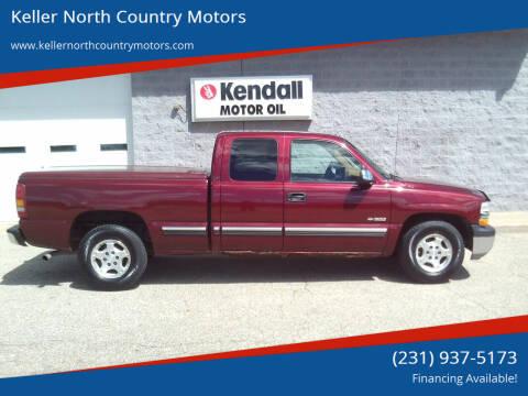 2000 Chevrolet Silverado 1500 for sale at Keller North Country Motors in Howard City MI