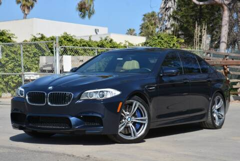 2013 BMW M5 for sale at Milpas Motors in Santa Barbara CA