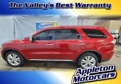 2011 Dodge Durango for sale at Appleton Motorcars Sales & Service in Appleton WI