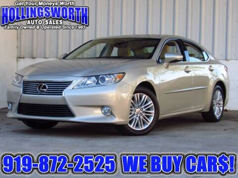 2013 Lexus ES 350 for sale at Hollingsworth Auto Sales in Raleigh NC