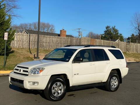 2004 Toyota 4Runner for sale at Superior Wholesalers Inc. in Fredericksburg VA