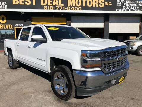 2016 Chevrolet Silverado 1500 for sale at BEST DEAL MOTORS  INC. CARS AND TRUCKS FOR SALE in Sun Valley CA