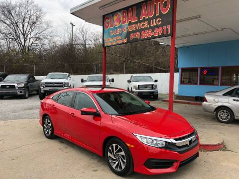 2016 Honda Civic for sale at Global Auto Sales and Service in Nashville TN