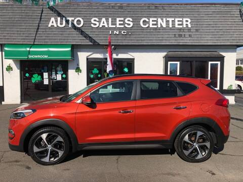 2016 Hyundai Tucson for sale at Auto Sales Center Inc in Holyoke MA