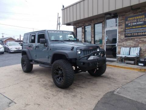 2015 Jeep Wrangler Unlimited for sale at Preferred Motor Cars of New Jersey in Keyport NJ