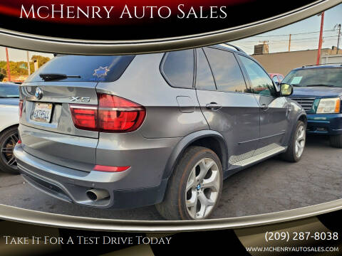 2012 BMW X5 for sale at McHenry Auto Sales in Modesto CA