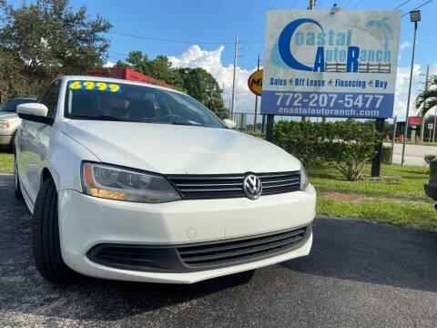 2012 Volkswagen Jetta for sale at Coastal Auto Ranch, Inc. in Port Saint Lucie FL