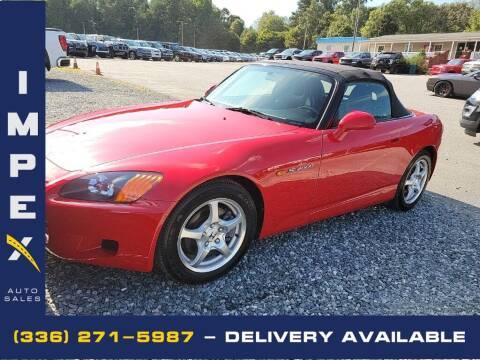 2001 Honda S2000 for sale at Impex Auto Sales in Greensboro NC