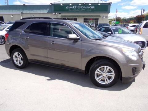 2012 Chevrolet Equinox for sale at Jim O'Connor Select Auto in Oconomowoc WI