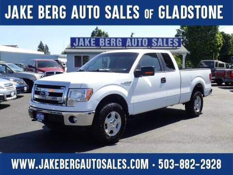2013 Ford F-150 for sale at Jake Berg Auto Sales in Gladstone OR
