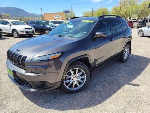 2018 Jeep Cherokee for sale at Canyon View Auto Sales in Cedar City UT
