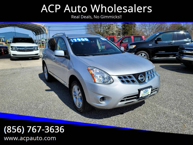 2012 Nissan Rogue for sale at ACP Auto Wholesalers in Berlin NJ