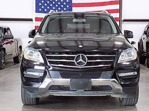 2012 Mercedes-Benz M-Class for sale at Texas Motor Sport in Houston TX