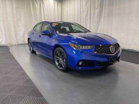 2020 Acura TLX for sale at Monster Motors in Michigan Center MI
