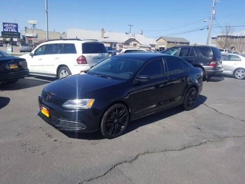 2013 Volkswagen Jetta for sale at Cool Cars LLC in Spokane WA