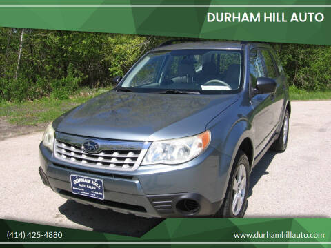 2011 Subaru Forester for sale at Durham Hill Auto in Muskego WI
