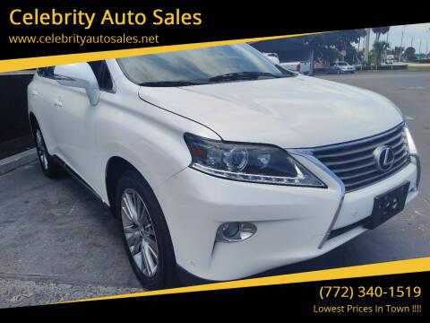 2013 Lexus RX 350 for sale at Celebrity Auto Sales in Port Saint Lucie FL