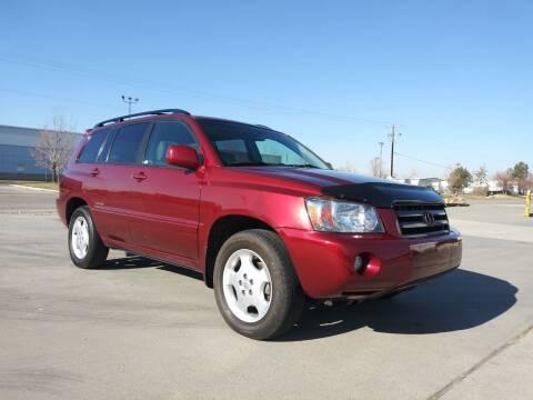 2007 Toyota Highlander for sale at AUTOMOTIVE SOLUTIONS in Salt Lake City UT