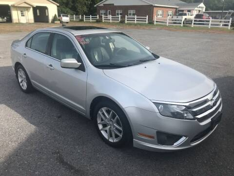 2010 Ford Fusion for sale at RJD Enterprize Auto Sales in Scotia NY