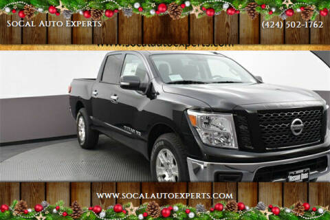 2019 Nissan Titan for sale at SoCal Auto Experts in Culver City CA