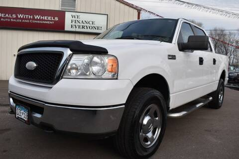 2007 Ford F-150 for sale at DealswithWheels in Hastings MN