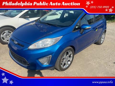 2011 Ford Fiesta for sale at Philadelphia Public Auto Auction in Philadelphia PA