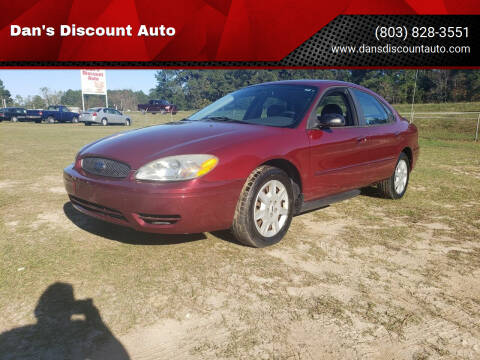 2004 Ford Taurus for sale at Dan's Discount Auto in Gaston SC