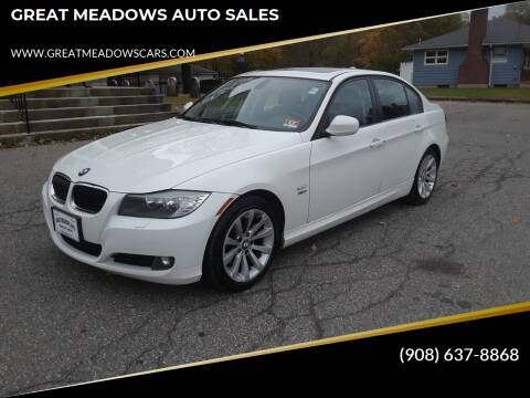 2011 BMW 3 Series for sale at GREAT MEADOWS AUTO SALES in Great Meadows NJ