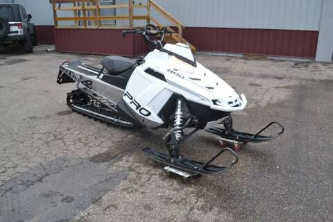 2013 Polaris Pro RMK 800 for sale at Dave's Auto Sales in Winthrop MN