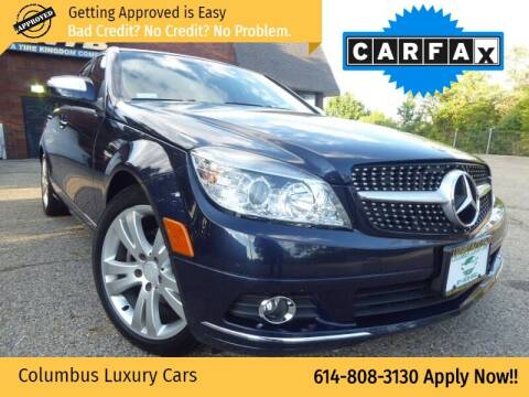 2008 Mercedes-Benz C-Class for sale at Columbus Luxury Cars in Columbus OH