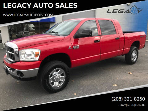 2009 Dodge Ram Pickup 2500 for sale at LEGACY AUTO SALES in Boise ID