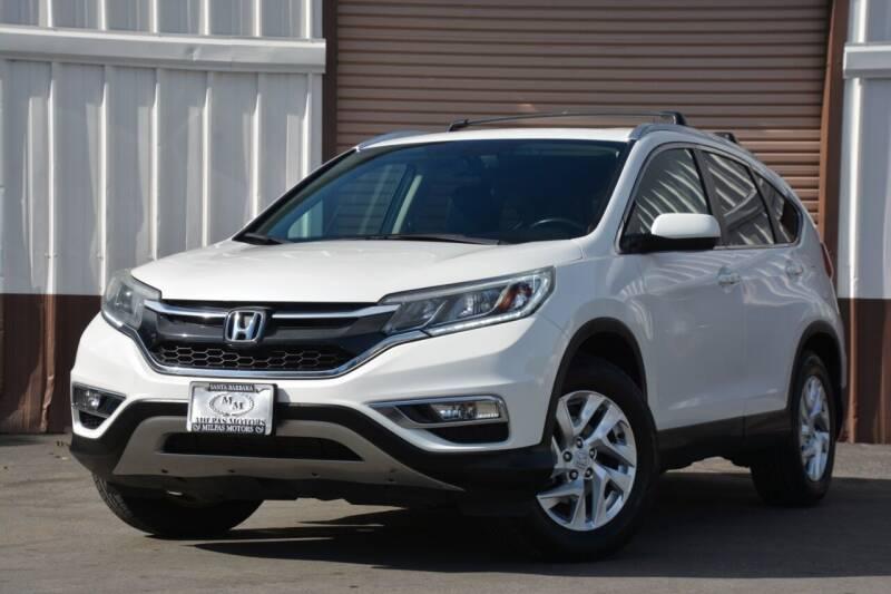 2015 Honda CR-V for sale at Milpas Motors in Santa Barbara CA