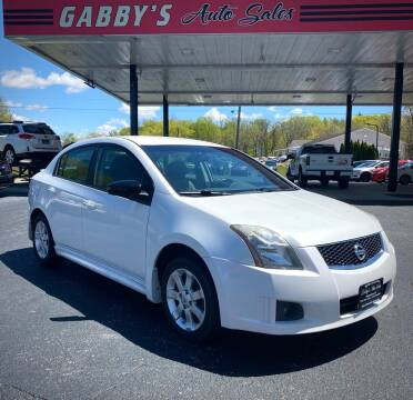 2010 Nissan Sentra for sale at GABBY'S AUTO SALES in Valparaiso IN