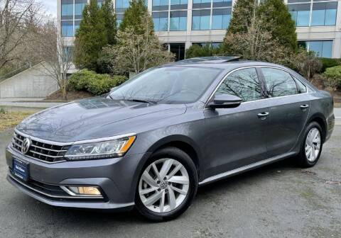2018 Volkswagen Passat for sale at Halo Motors in Bellevue WA