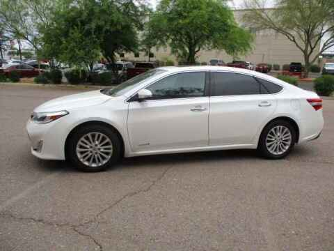2014 Toyota Avalon Hybrid for sale at Corporate Auto Wholesale in Phoenix AZ