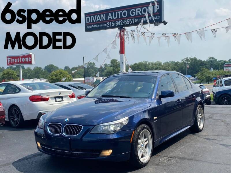 2010 BMW 5 Series for sale at Divan Auto Group in Feasterville Trevose PA