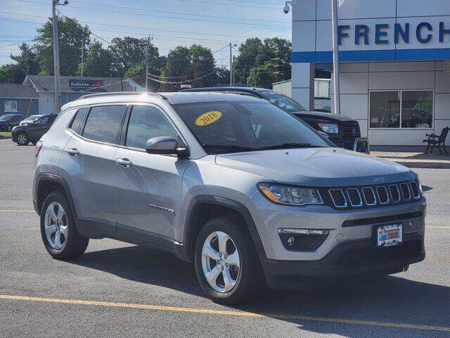 2018 Jeep Compass for sale at Frenchie's Chevrolet and Selects in Massena NY