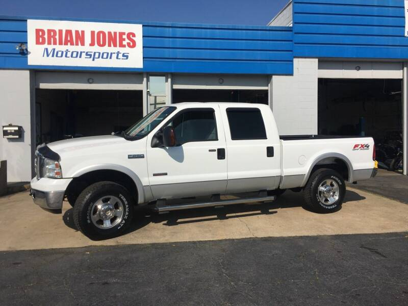 2006 Ford F-250 Super Duty for sale at Brian Jones Motorsports Inc in Danville VA