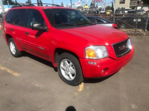 2002 GMC Envoy for sale at Chuck Wise Motors in Portland OR