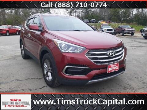 2017 Hyundai Santa Fe Sport for sale at TTC AUTO OUTLET/TIM'S TRUCK CAPITAL & AUTO SALES INC ANNEX in Epsom NH