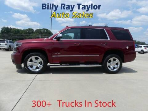 2017 Chevrolet Tahoe for sale at Billy Ray Taylor Auto Sales in Cullman AL