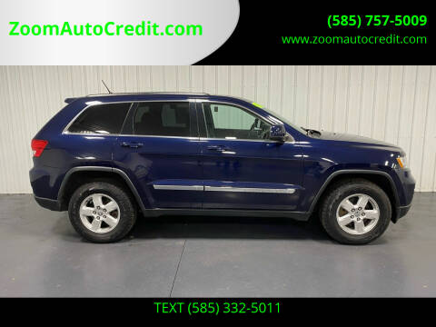 2013 Jeep Grand Cherokee for sale at ZoomAutoCredit.com in Elba NY
