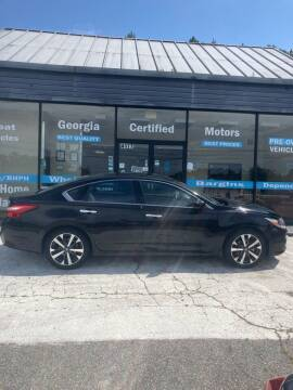 2016 Nissan Altima for sale at Georgia Certified Motors in Stockbridge GA